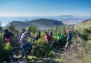 panorama in cima al trail Poiana